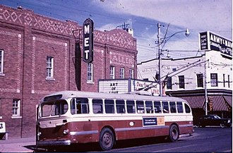 Regina, Saskatchewan - Broad Street in 1965. The movie theatre, and department store were later demolished. Regina saw a number of buildings demolished from 1945 to the 1970s.