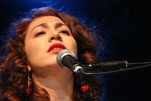 Photo of Regina Spektor in concert, Latitude F...