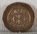 Regno longobardo, emissione aurea di desiderio, zecca di ivrea, 757-774.JPG
