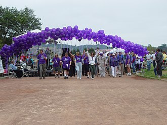 Relay For Life - The start of a Survivor's Lap.