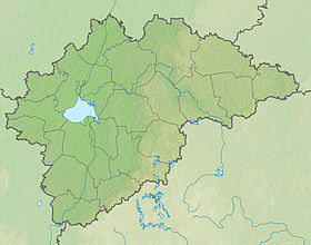 Staraja Rusa is located in Novgorodske oblasti