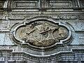 Relleu amb la figura orant de Sant Pius V, Col·legi de Sant Pius V, Museu de Belles Arts de València.JPG