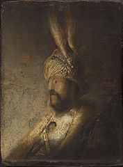 Bust of a Man in a Turban