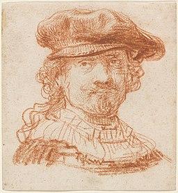 Rembrandt Self-Portrait (1637)