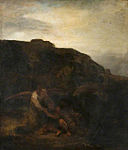Rembrandt follower - Tobias and the Angel in a Landscape.jpg