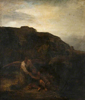 Tobias and the Angel in a Landscape