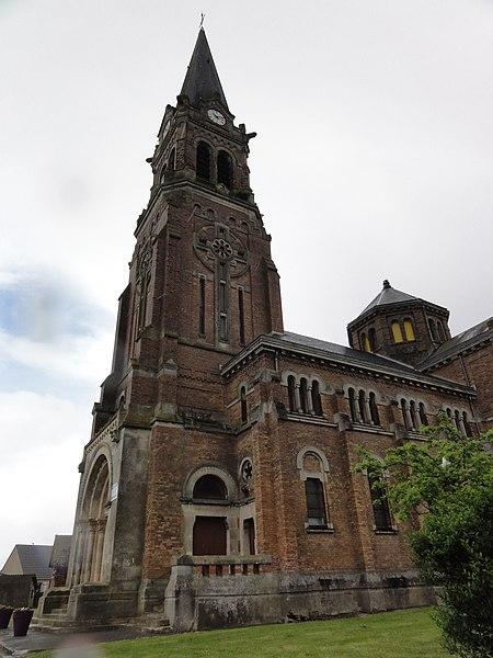 Remigny (Aisne) église
