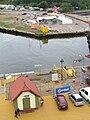 Remont nabrzeża portu w Ustce - lipiec 2011.jpg