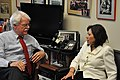 Rep. George Miller meeting with Labor Secretary Hilda Solis (5449394218).jpg
