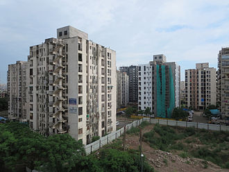 Ghaziabad, Uttar Pradesh - Residential apartments near Vaishali Metro Station, Ghaziabad