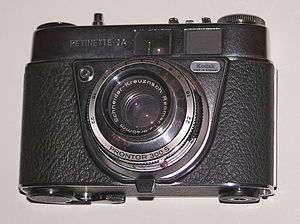 Kodak Retinette - Image: Retinette IA Prontor 300 S shutter