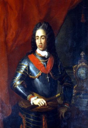 Luís Carlos Inácio Xavier de Meneses, 1st Marquis of Louriçal - Portrait by Pompeo Batoni, 18th c.