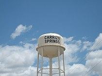 Revised Carrizo Springs, TX, Water Tower IMG 0447.JPG