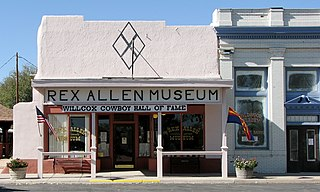 Rex Allen Arizona Cowboy Museum and Willcox Cowboy Hall of Fame