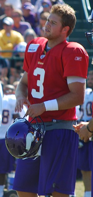 Rhett Bomar - Bomar at a Minnesota Vikings training camp in 2011.