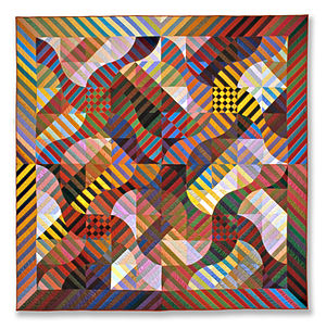 Michael James (quilt artist) - Rhythm Color Spanish Dance