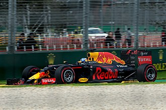 2016 Australian Grand Prix - Daniel Ricciardo qualified eighth and went on to finish fourth in the race.
