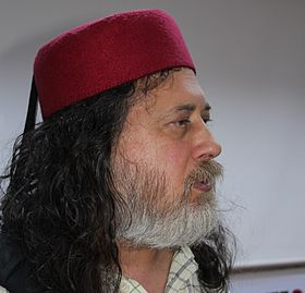 Richard M. Stallman with a Chechia - Sousse 2015 - Tunisia (cropped).JPG