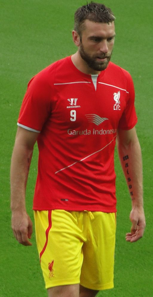 Rickie Lambert with Liverpool