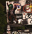 Rico Abreu celebrating win Angell Park June 2013.jpg