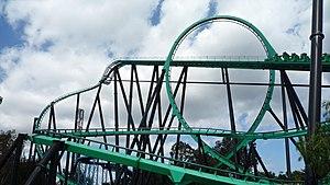 The Riddler's Revenge - Image: Riddlers Revenge at Six Flags Magic Mountain