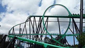 The Riddler's Revenge - Image: Riddlers Revenge at Six Flags Magic Mountain