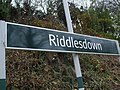 Riddlesdown station signage.JPG