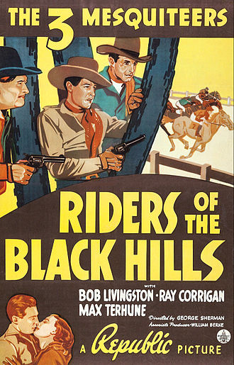 Riders of the Black Hills - Film poster