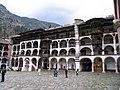 Rila Monastery yard.jpg