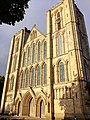 Ripon cathedral facade in the sun.jpg
