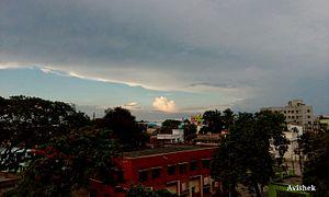 Rishra - Sky line of Rishra