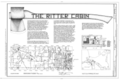 Ritter Log Cabin, 118 West Johnson Avenue, Springdale, Washington County, AR HABS ARK,72-SPRIGD,1- (sheet 1 of 6).png