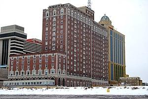 Ritz-Carlton Atlantic City - The Ritz Condominiums from the beach