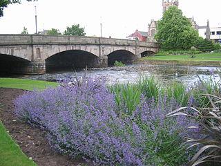 Musselburgh town in Scotland