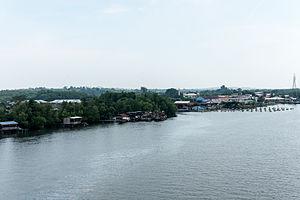 Kuala Penyu District - Image: Rivers Of Sabah Sungai Sitompok 09