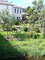 Riverside garden, Newtown - geograph.org.uk - 1386468.jpg