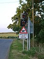 Road sign at Washdyke Farm, Stathern - geograph.org.uk - 29445.jpg
