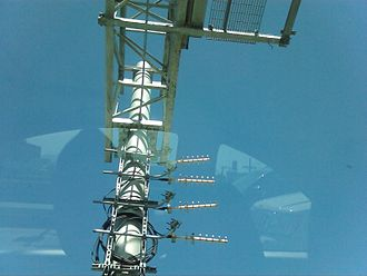 FasTrak - FasTrak antennae that pull data used to generate 5-1-1 traffic information