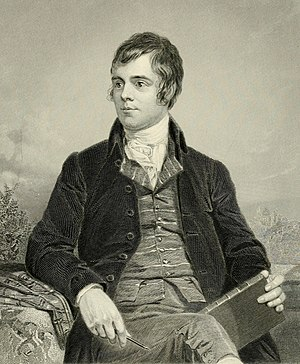 Ellisland Farm - Robert Burns by Alexander Nasmyth, 1787