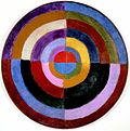 Robert Delaunay, 1913, Premier Disque, 134 cm, 52.7 inches, Private collection.jpg