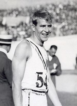 Bob King (athlete) - Bob King at the 1928 Olympics