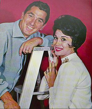 Freddie Bell - Bell with wife Roberta Linn at the Las Vegas Sahara Hotel