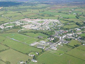 Rochfortbridge - Aerial view of Rochfortbridge