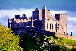 Rock of Cashel in 1986