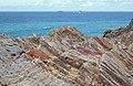 Rock strata near Fox Cove (1) - geograph.org.uk - 1473745.jpg