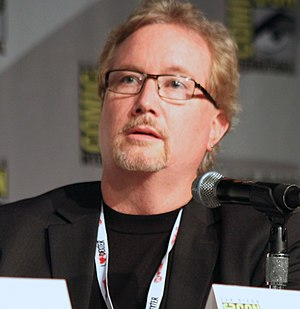 Rockne S. O'Bannon - O'Bannon at the 2013 Comic-Con