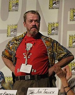 Rodger Bumpass - Voice Actor Rodger Bumpass - Standing at Panel - Cropped.jpg