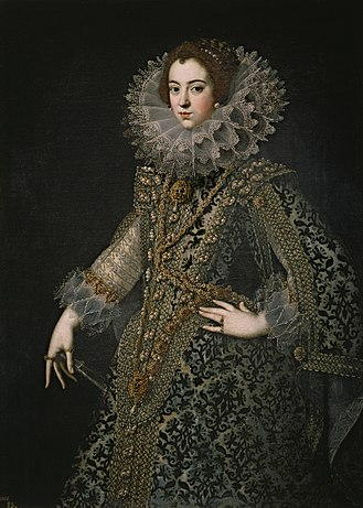 Elisabeth of France (1602–1644) - Queen Isabel by Rodrigo de Villandrando