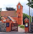 Roedovre Kirke Denmark gate.jpg