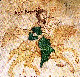 Kingdom of Sicily - Roger II, the first king of Sicily.